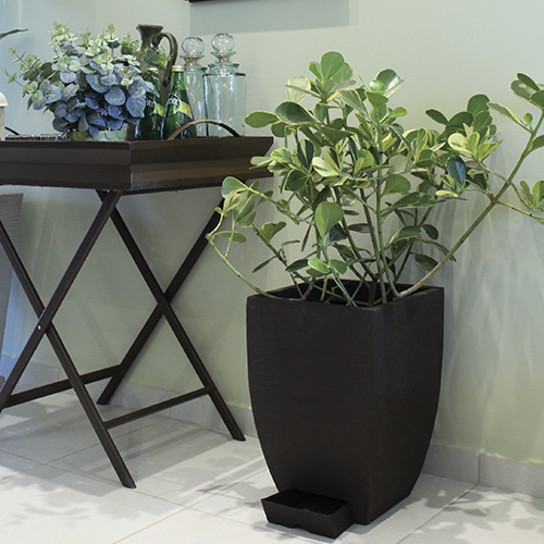 All-IN-ONE MODERN SQUARE PLANTER