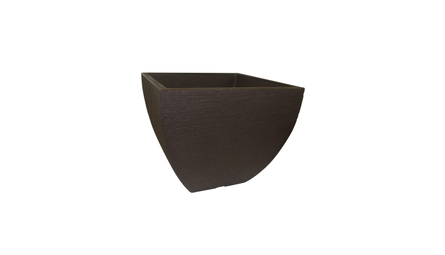 Modern Low Square Planter