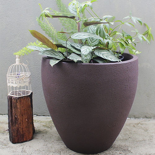RUSTIC ELLIPSE PLANTER